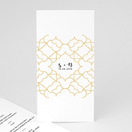 Menu de Mariage Alhambra