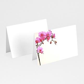 Marque place mariage personnalisés l'orchidée rose pas cher