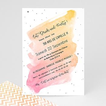 Invitation Anniversaire 30 ans - La Trentaine - 0