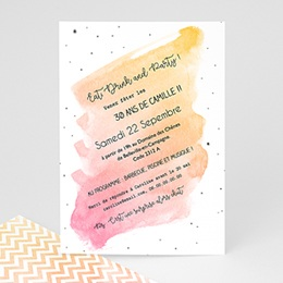 Invitations Anniversaire adulte La Trentaine