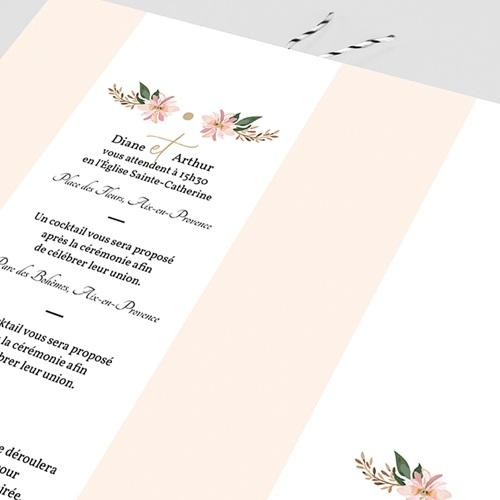 Faire-Part Mariage Douceur des fleurs pas cher