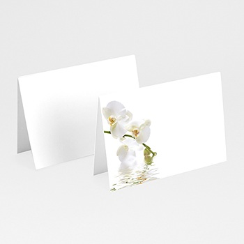 Marque Place Mariage Personnalisés Invités de L'orchidée