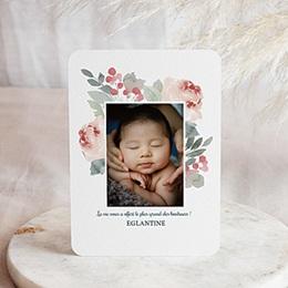 Faire-part naissance fille Althea