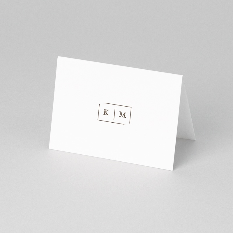 Marque Place Mariage Modern Nude pas cher