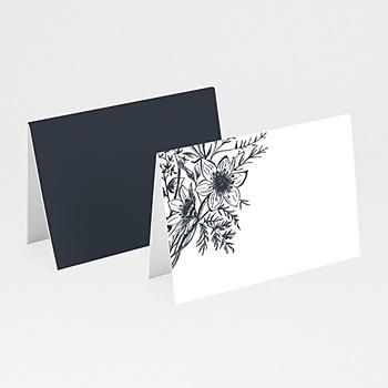 Marque Place Mariage - Esquisse Florale - 0