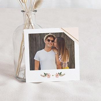 Save the date mariage Douceur des fleurs personnalisable