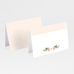 Marque place mariage Douceur des fleurs