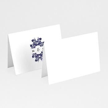 Marque Place Mariage - Bleu Ottoman - 0