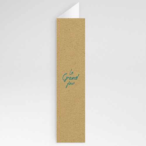Menu de Mariage - Nature & Kraft 60105 thumb