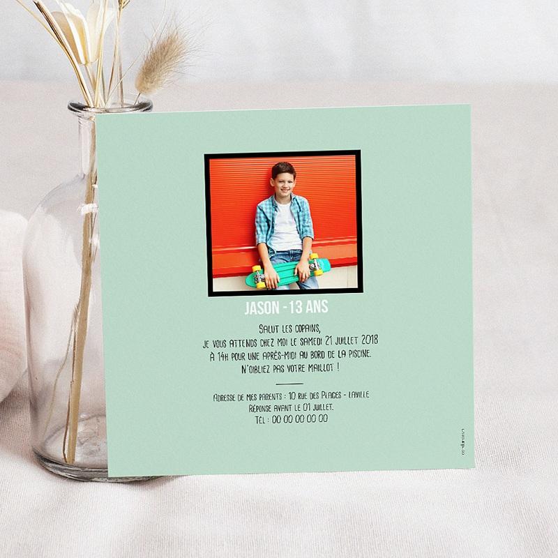 Invitation Anniversaire Enfant - Adolescent 60190 thumb