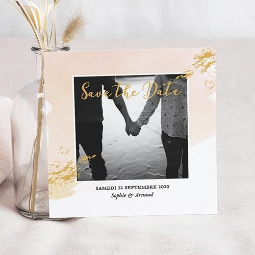 Save The Date Mariage Doux bonheur