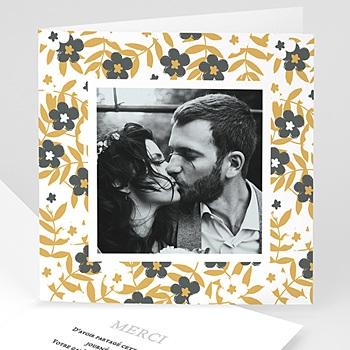 Remerciement mariage photo - Anémones - 0