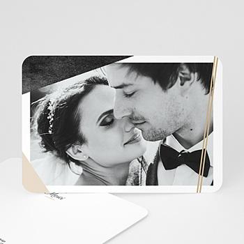 Remerciement mariage photo - Minéral - 0