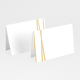 Marque place mariage Minimal Chic