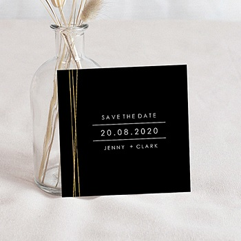 Achat save the date mariage minimaliste chic
