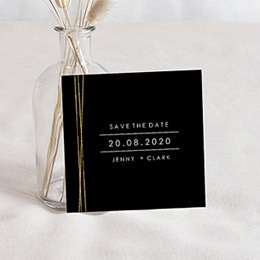 Save-The-Date Minimaliste Chic