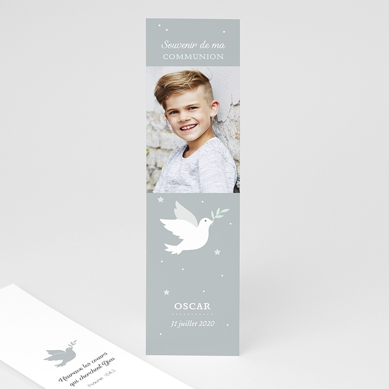 Marque-Page Holy spirit gris