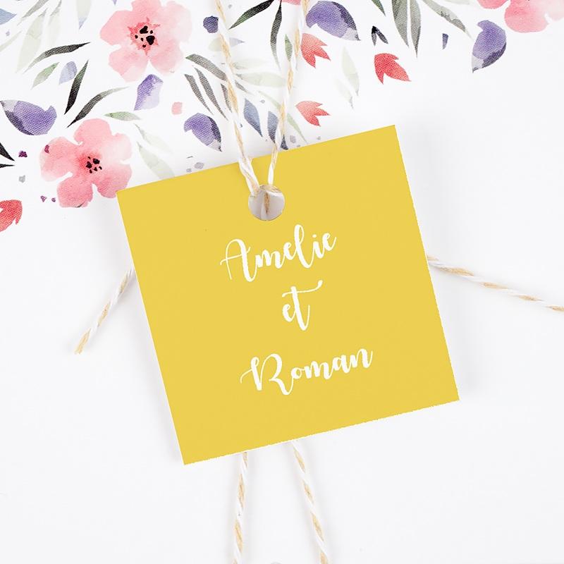 Etiquette Cadeau Mariage Parfum d'agrumes gratuit