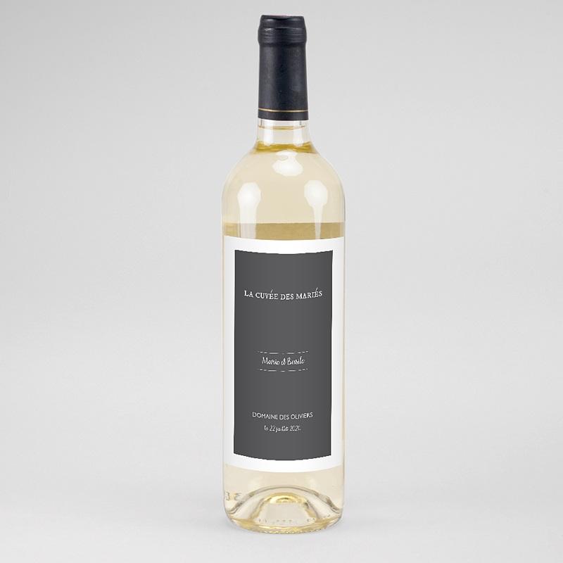 Étiquette bouteille mariage - Moisson d'Automne 60714 thumb
