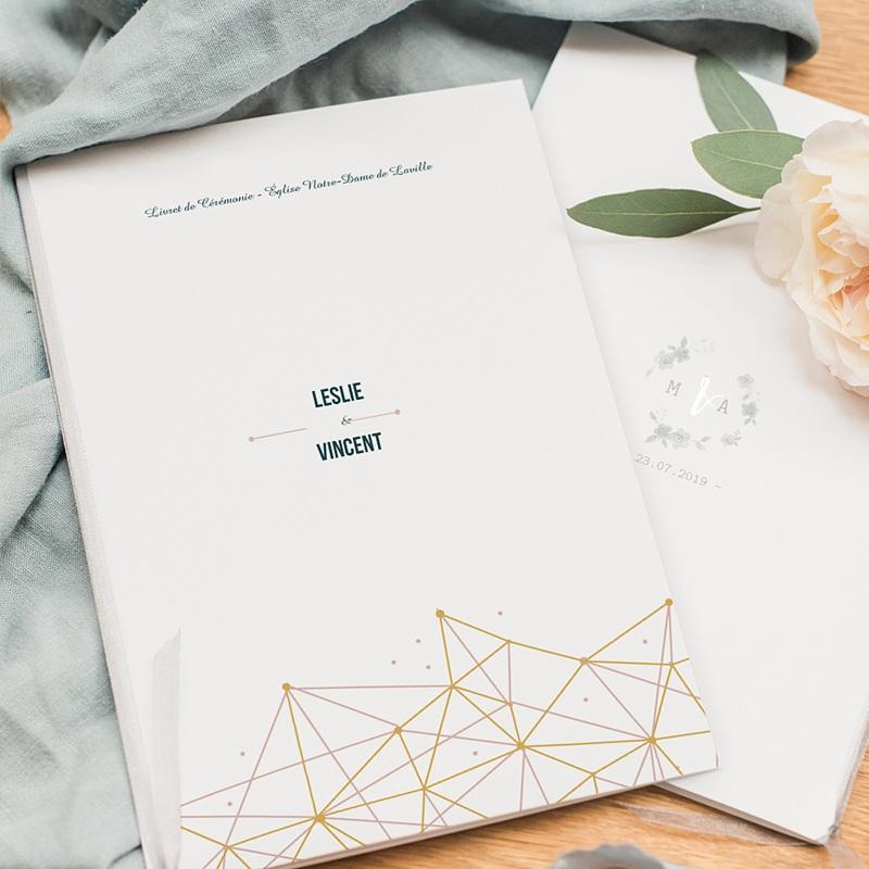 Livret messe mariage Constellation pas cher