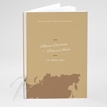 Livret messe mariage Wedding Pass à personnaliser