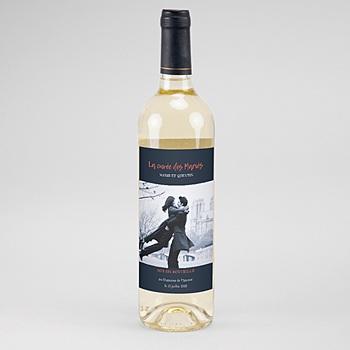 Étiquette bouteille mariage - So Chic - 0