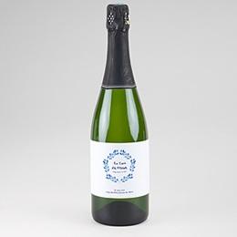 Etiquette bouteille champagne Accents méditerranéens