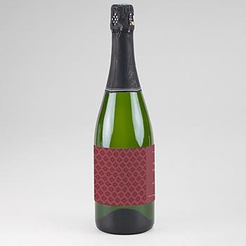 Achat etiquette bouteille mariage rouge ottoman