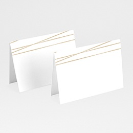 Marque Place Mariage Minimaliste Chic