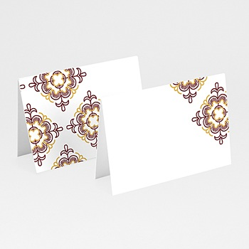 Marque Place Mariage - Rouge Ottoman - 0