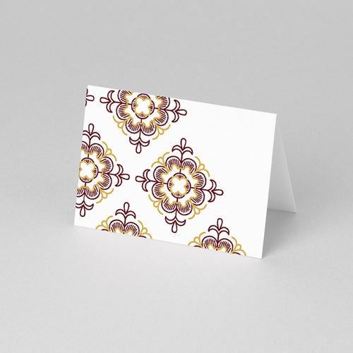 Marque Place Mariage - Rouge Ottoman 61277 thumb