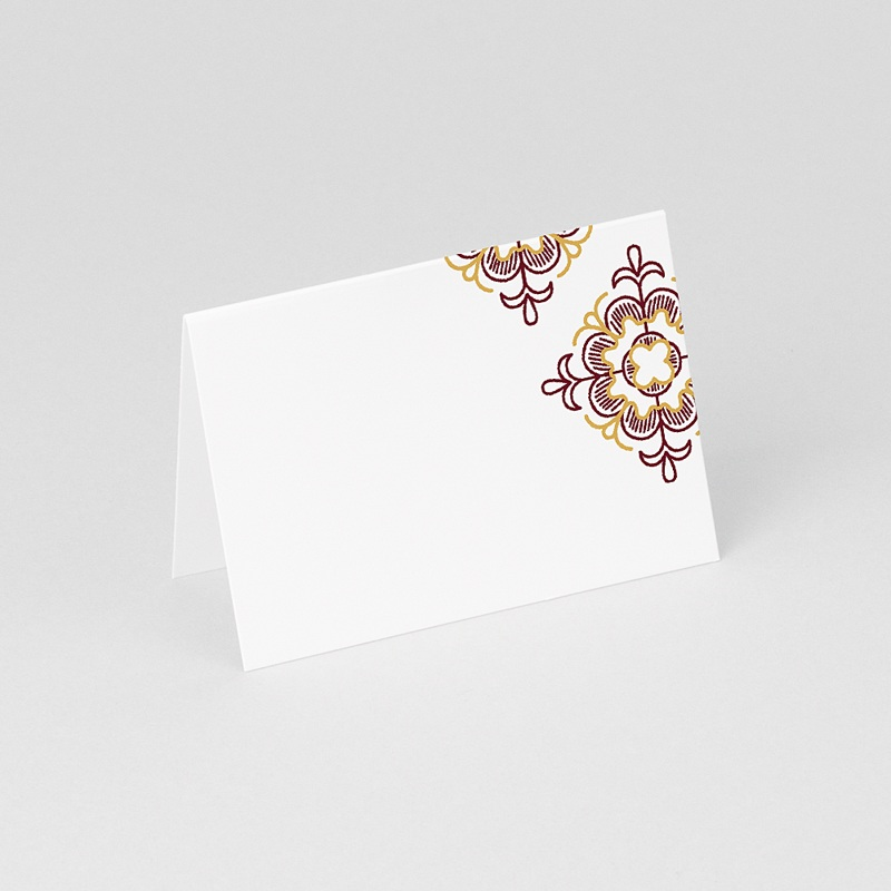 Marque Place Mariage - Rouge Ottoman 61278 thumb