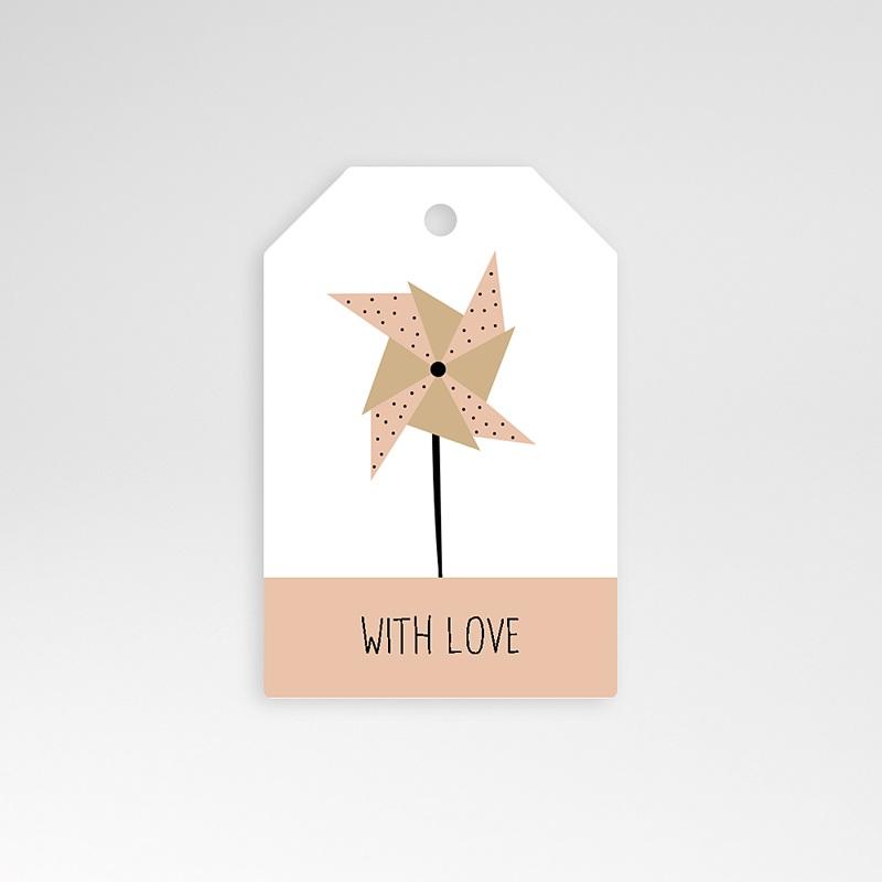 Etiquette Cadeau Naissance Sweet Origami