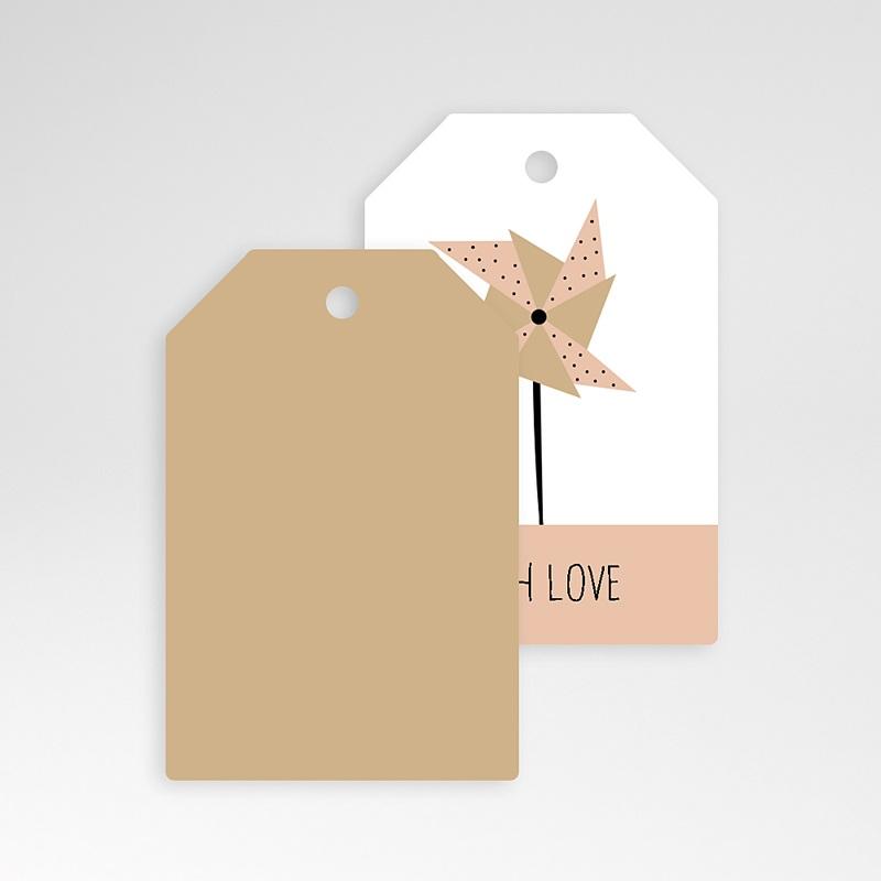 Etiquette Cadeau Naissance Sweet Origami pas cher