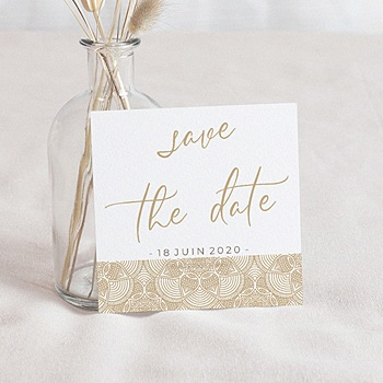 Save the date mariage constantinopolis personnalisable