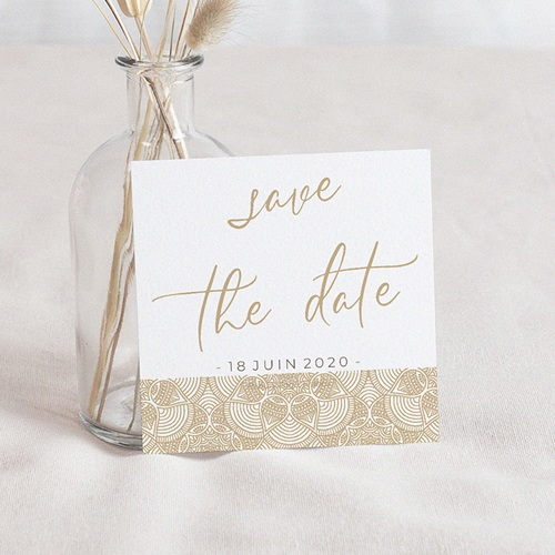 Save The Date Mariage Constantinopolis, 10 X 10