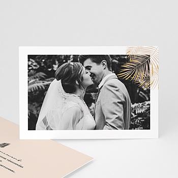 Remerciement mariage photo - Oasis Dorée - 0