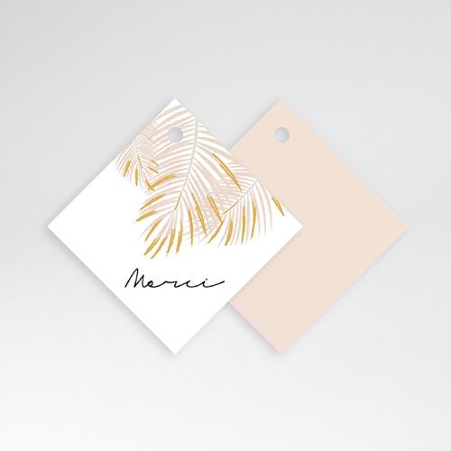 Etiquette Mariage - Oasis Dorée 61406 thumb