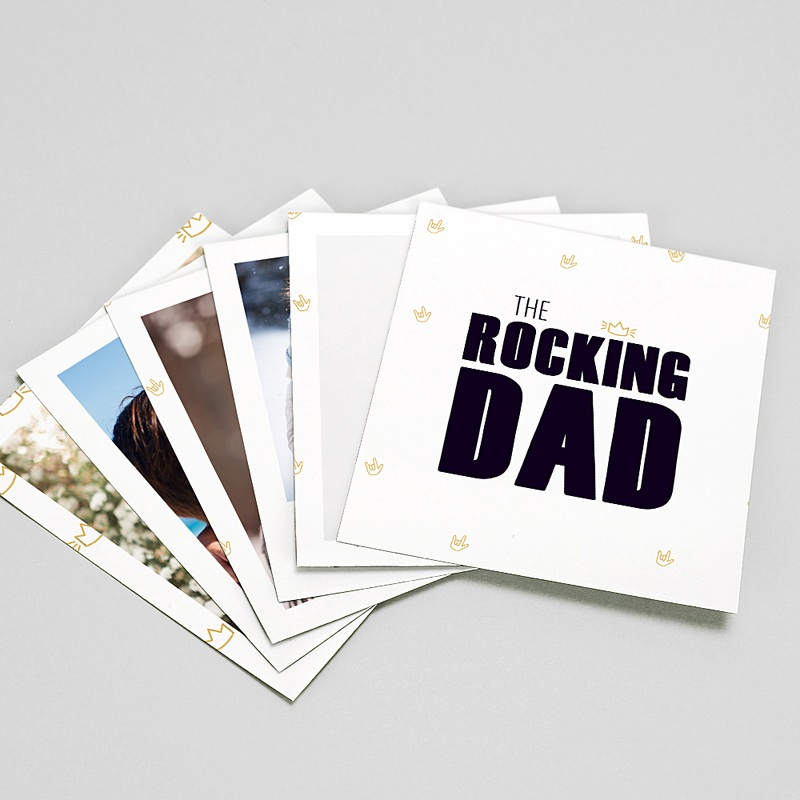 Magnet photo rétro Our Rocking Dad