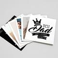 Magnet photo rétro Best Dad Photos