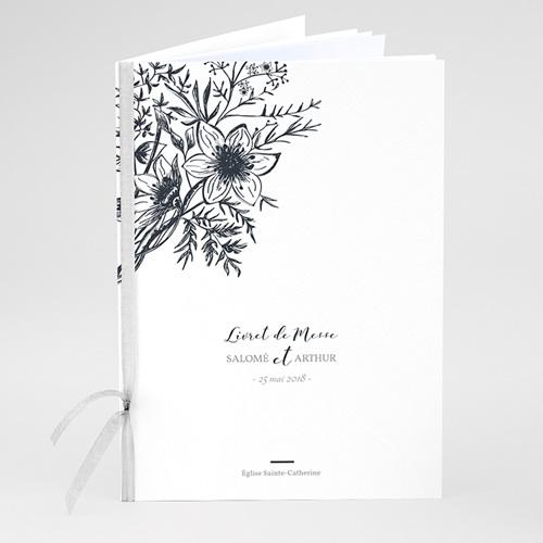 Livret Messe Mariage Esquisse Florale