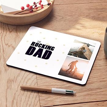 Tapis de souris personnalisé - The Rocking Geek - 0