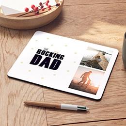 Tapis de Souris Fête des pères The Rocking Geek