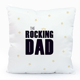 Coussin personnalisé Sweet Rocking Dad