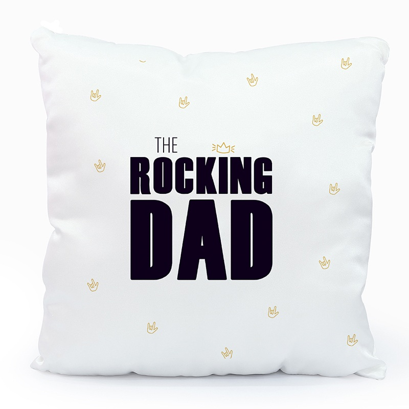 Coussin Personnalisé Photo Sweet Rocking Dad