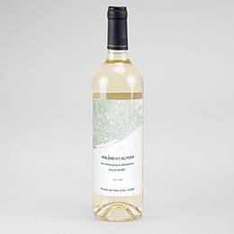 Etiquette bouteille mariage Moisson de printemps