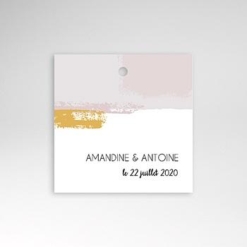 Etiquette Mariage - Rose quartz - 0