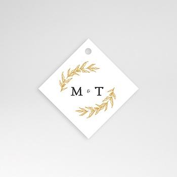 Etiquette Mariage - Végétal minimal - 0