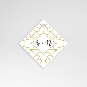 Etiquette Mariage - Alhambra - 0
