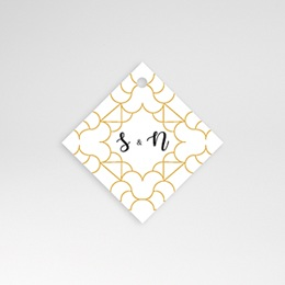 Etiquette Mariage Alhambra